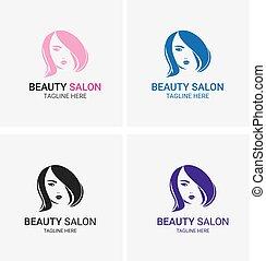 Beauty Girl Salon Logo