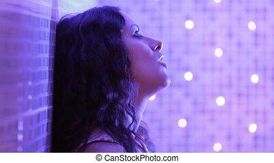 Beauty Glamour Singer Girl.