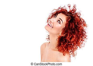 beauty hair concept