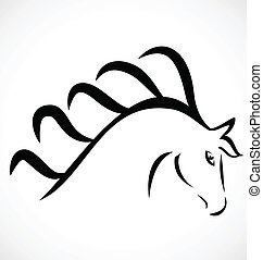 Beauty Head horse logo