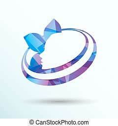 beauty icon skin care health vector design spa abstract