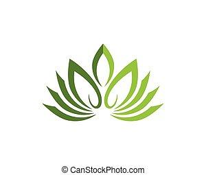 Beauty Lotus Logo Template - Stylized lotus flower icon...