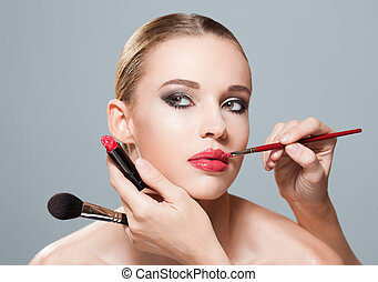 beauty., maquillage