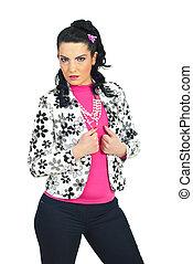 Beauty model female posing