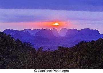 Beauty mountains