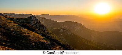 mountain landscape Crimea - Beauty nature mountain landscape...