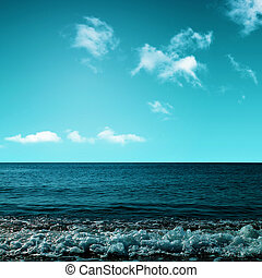 Beauty ocean. Abstract environmental backgrounds