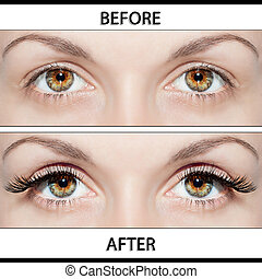 Beauty Operations - Placing Artificial Eyelashes - Beautiful...
