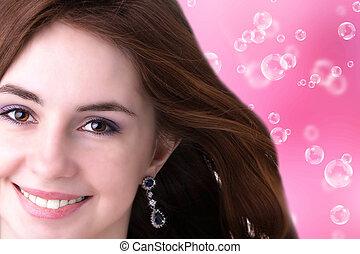 Beauty Portrait. Beautiful girl