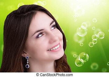 Beauty Portrait Girl.
