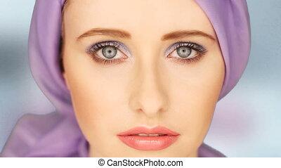 Beauty Potrait Of Woman