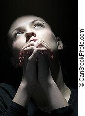 beauty prayer in dark