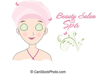 beauty salon and spa