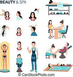 Beauty Salon Spa Set