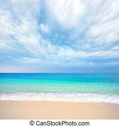 beauty sea and sky