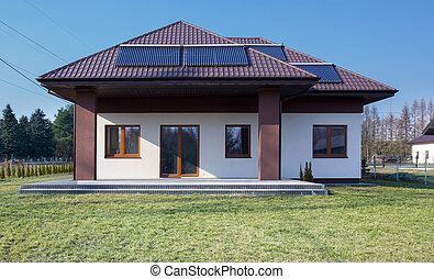 Beauty single-family home - External view of beauty single...