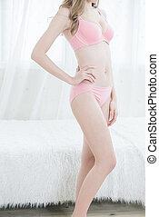 beauty slim body woman
