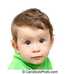 beauty small baby portrait
