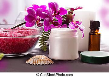 Beauty spa settings