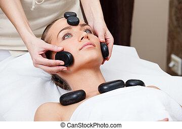 Beauty spa treatment