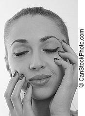 Beauty Spa Woman Portrait