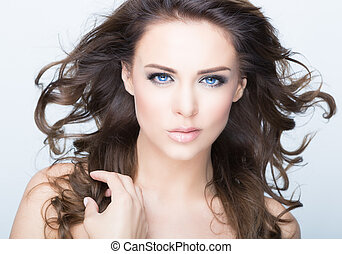 beauty - woman with beauty face