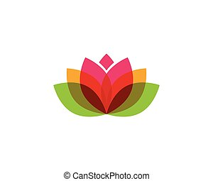 Beauty Vector flowers logo
