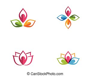 Beauty Vector lotus icon