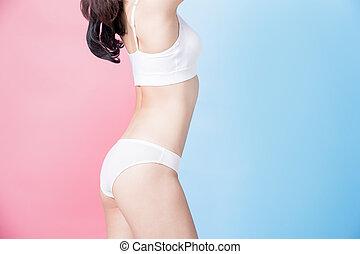 beauty woman body