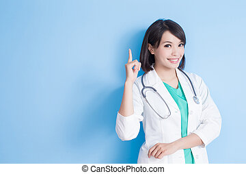 beauty woman doctor