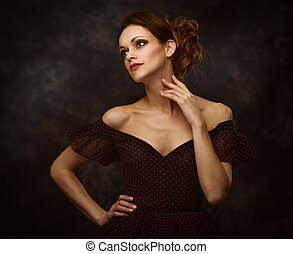 beauty woman fashion portrait