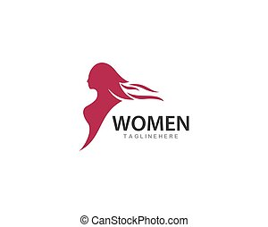 Beauty Woman logo vector