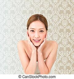 Beauty woman - Portrait of asian woman