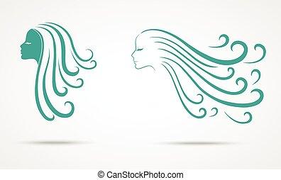 Beauty woman symbol