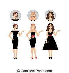 Beauty women set