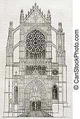beauvais, καθεδρικόs ναόs