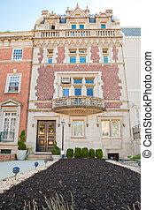 Beaux-Arts Row Home Embassy District Washington DC