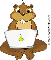 "Beaver CREES. Look for Funny Beaver by Keyword ""CREES"". -..."