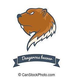 Beaver logo.