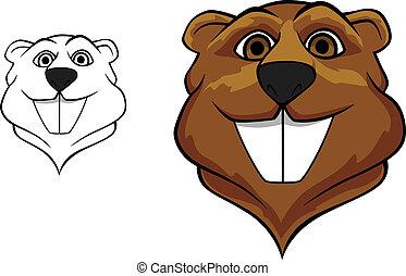 Beaver mascot