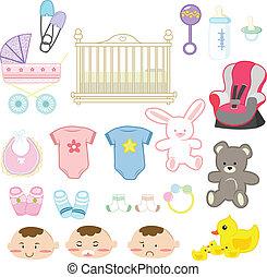 bebé, artículos