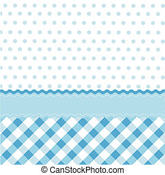 bebé azul, seamless, patrón