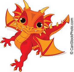 bebé, dragón
