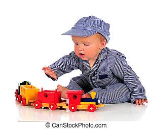 bebé, ingeniero