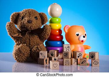 bebé, juguetes