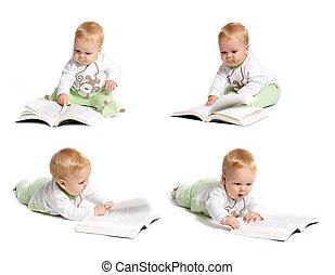bebé, lectura