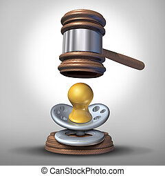 bebé, ley, adopción