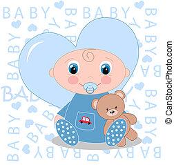 bebé recién nacido, anuncio