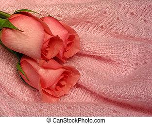 bebé, rosa