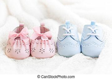 bebé zapatos